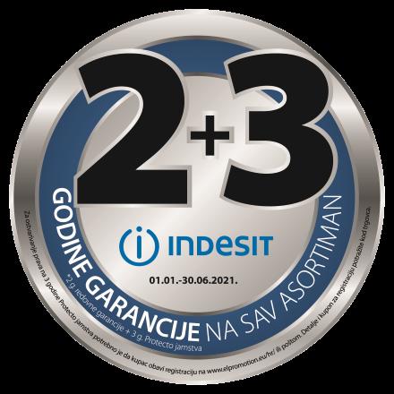2+3 godine garancije na sav Indesit asortiman rotator