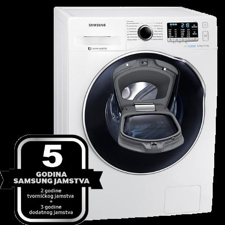 5 godina jamstva za Samsung sušilice i perilice-sušilice rublja