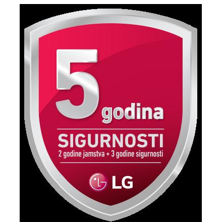 LG 5 godina sigurnosti