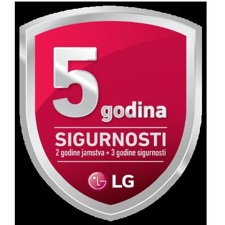 LG promocija - 5 godina sigurnosti