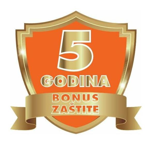 Bonus zaštita PGR60 B1 od 500 - 2000 kn jamstvo do 5 godina