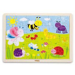 Drvene puzzle 24 kom - park