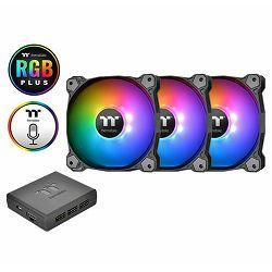 Hladnjak za kućište Thermaltake Pure Plus 12 RGB (3 komada+H