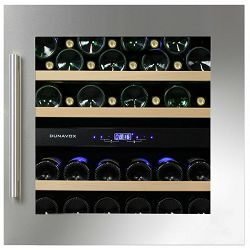 Hladnjak za vino ugradbeni Dunavox DAB-36.80DSS