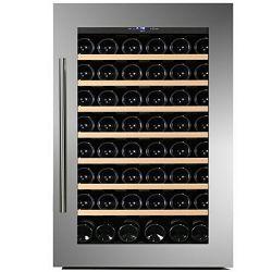Hladnjak za vino ugradbeni Dunavox DAB-48.125SS