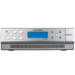 Kuhinjski radio Grundig SonoClock 890 aluminij