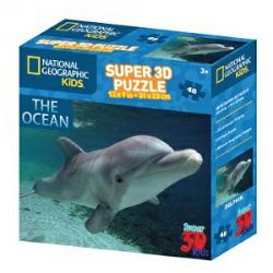 Puzzle 3D - dupin National Geographic Kids