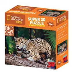 Puzzle 3D - jaguar National Geographic Kids