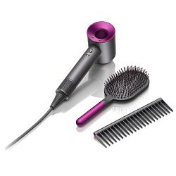 Sušilo za kosu Dyson Supersonic Iron/Fuchsia + gratis brush set