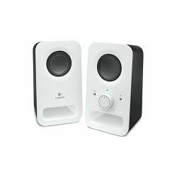 Zvučnici 2.0 Logitech Z150, bijeli