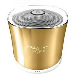 Zvučnik Creative WOOF3 zlatni