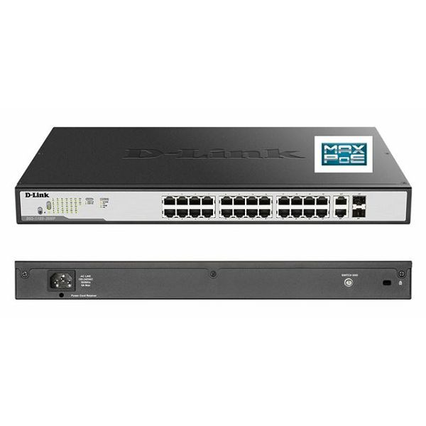 D-Link switch web upravljivi, DGS-1100-26MP