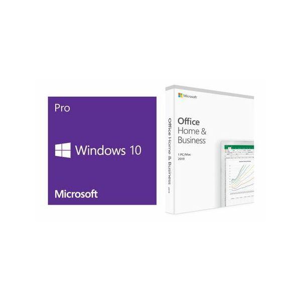DSP Win10 Pro + Office H&B 2019 - HRV, FQC-08937 + T5D-03304