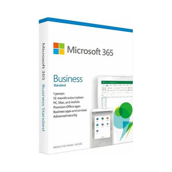 FPP Microsoft 365 Bus.Std 1YR Medialess P6 CRO, KLQ-00457
