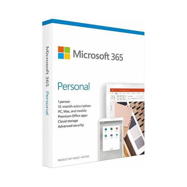 FPP Microsoft 365 Personal 1YR Medialess P6 ENG, QQ2-00989