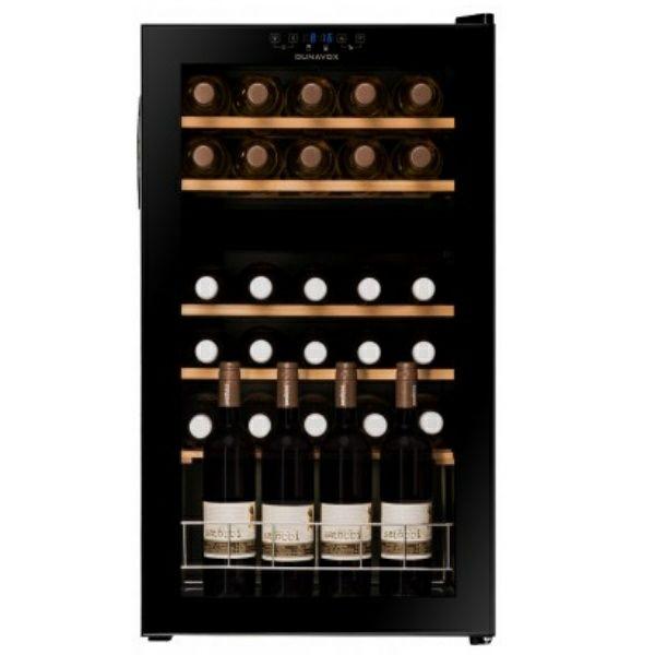 Hladnjak za vino Dunavox DXHF-30.80DK