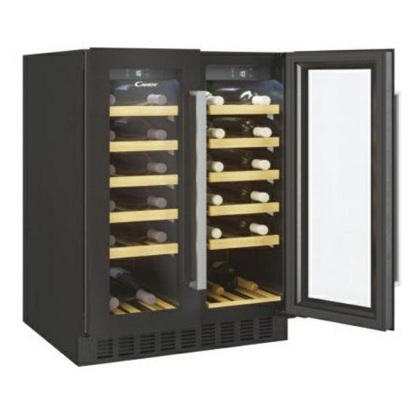 Hladnjak za vino ugradbeni Candy CCVB 60D/1