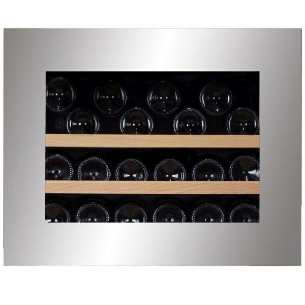 Hladnjak za vino ugradbeni Dunavox DAB-26.60SS.TO