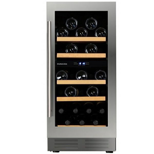 Hladnjak za vino ugradbeni Dunavox DAU-32.78DSS