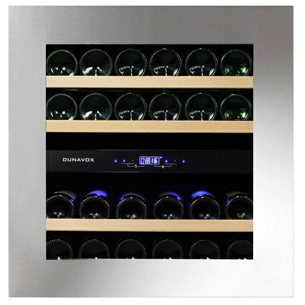 Hladnjak za vino ugradbeni Dunavox DAVG-25.63DSS.TO