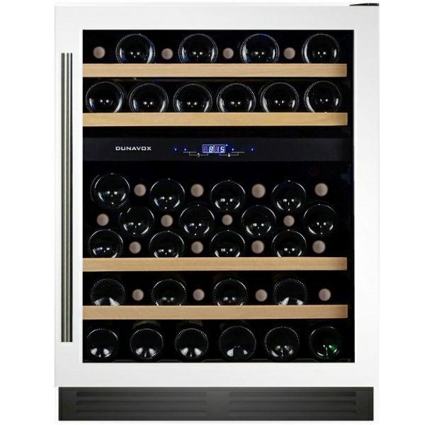 Hladnjak za vino ugradbeni Dunavox DX-53.130DWK/DP