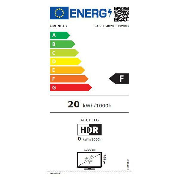 LED televizor Grundig 24VLE4820