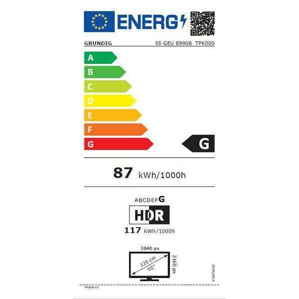 LED televizor Grundig 55GEU8990B