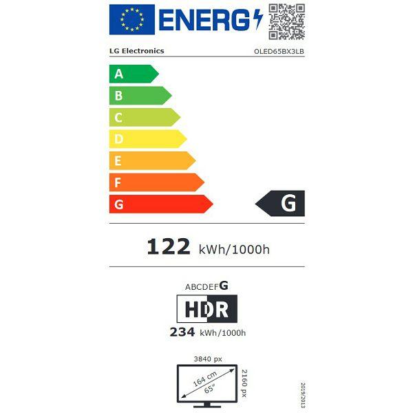 LED televizor LG OLED65BX3LB 4K HDR Smart OLED TV
