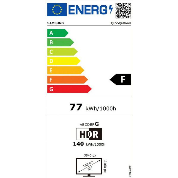 LED televizor Samsung QE55Q60AAUXXH QLED 4K Smart TV (2021)