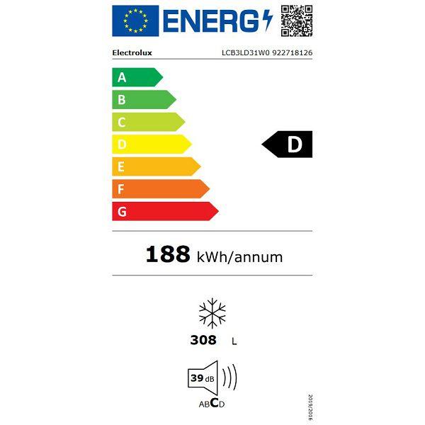 Ledenica Electrolux LCB3LD31W0 LowFrost