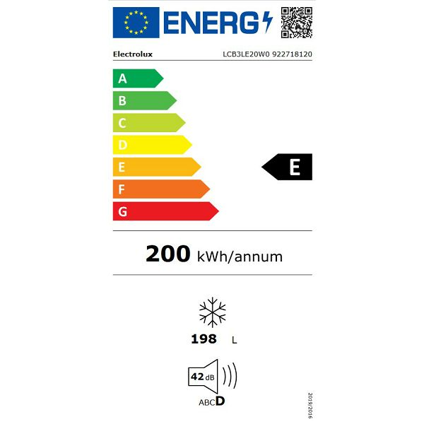 Ledenica Electrolux LCB3LE20W0