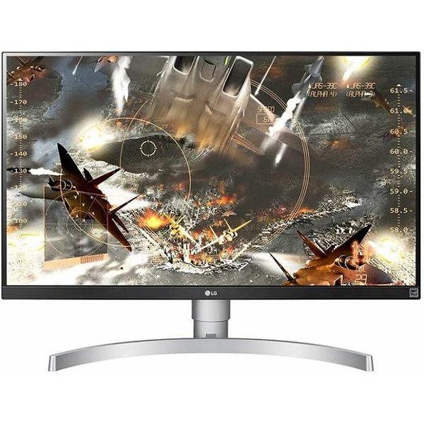 MON 27 LG 27UL650-W 4K UHD IPS LED