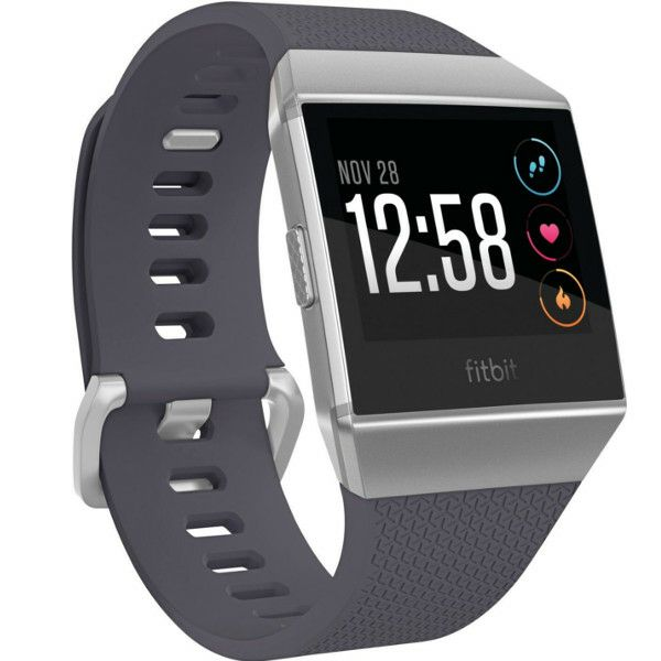 Narukvica Fitness Fitbit Ionic, Blue-Gray/White FB503WTGY-EU