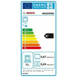 Pećnica Bosch HBG633NB1 crna