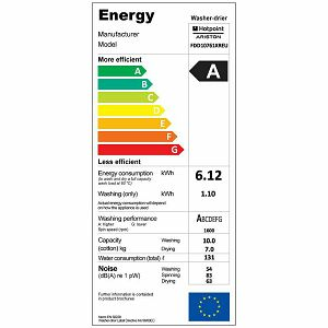 Perilica i sušilica rublja Ariston FDD 10761XR EU