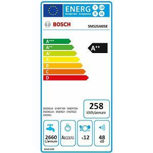 Perilica posuđa Bosch SMS25AI05E