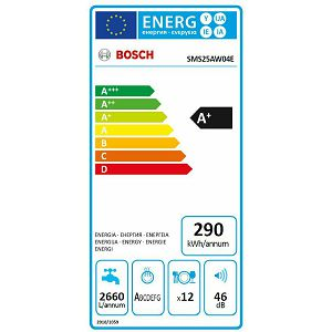 Perilica posuđa Bosch SMS25AW04E