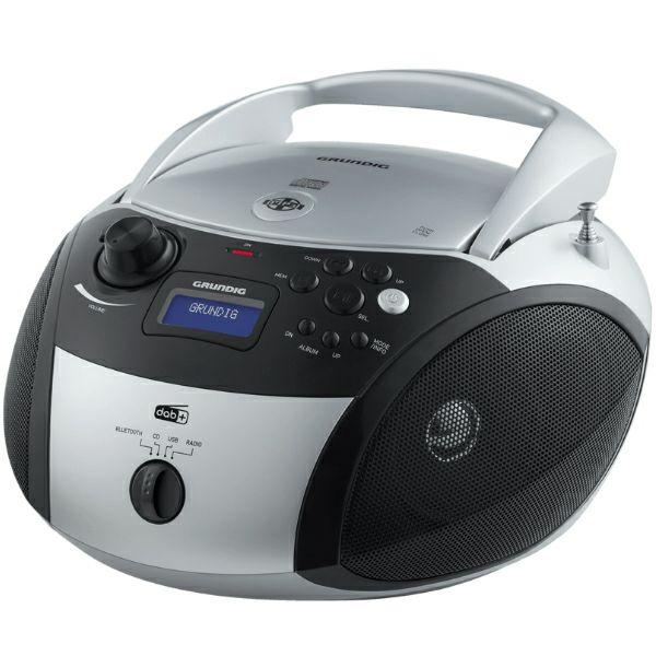 Radio Grundig GRB 4000 BT DAB+ srebrni