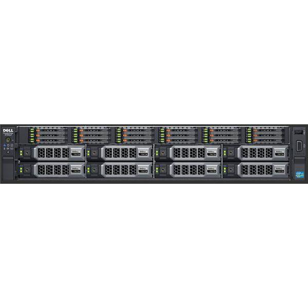 SRV DELL R740, Intel Xeon Silver 4110 2x600GB 2x4TB 2x16 MEM