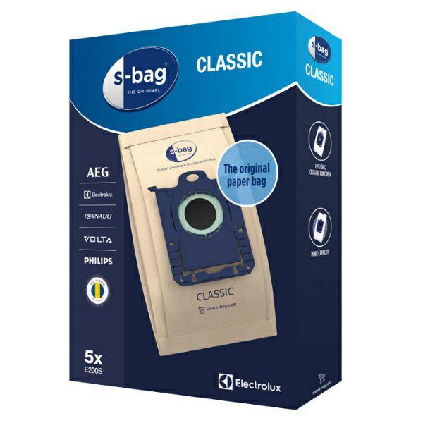 Vrećice za usisavač s-bag E200S
