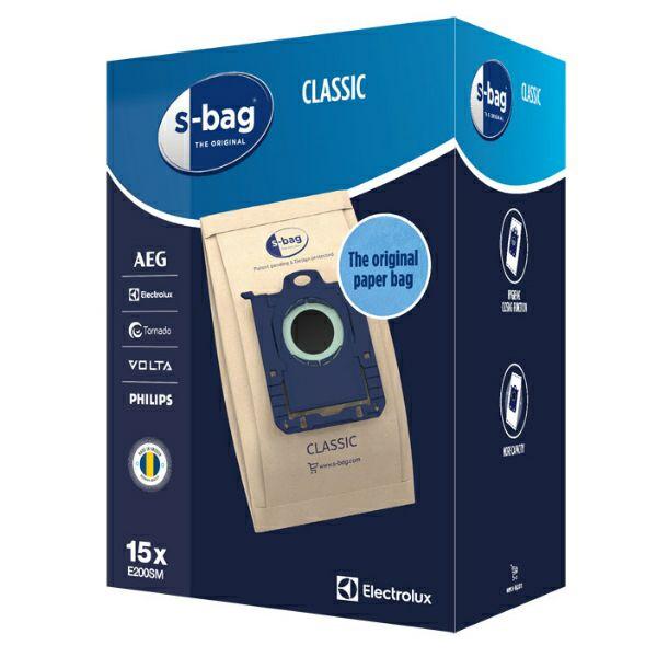 Vrećice za usisavač s-bag E200SM