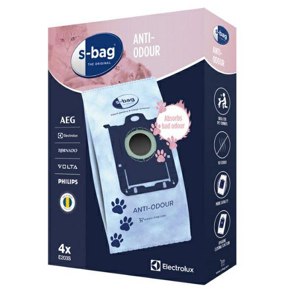 Vrećice za usisavač s-bag E203S